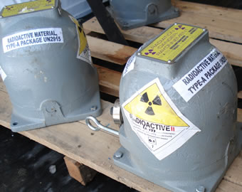 Nuclear substance and radiation device disposal